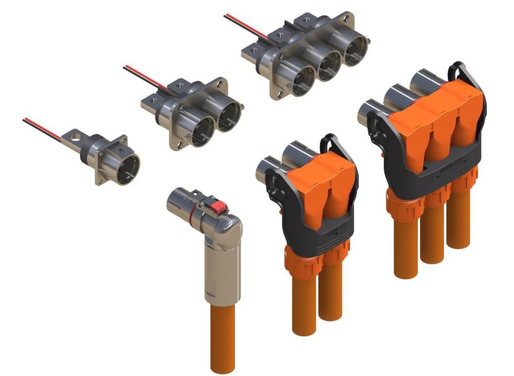 Robust Connections Rutronik Circuit Board Rj45 Ethernet Network Cable Connector Waterproof Connectors Powerlok Series